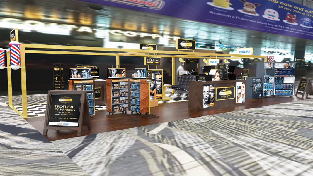 Changi Airport, The Male Grooming Club